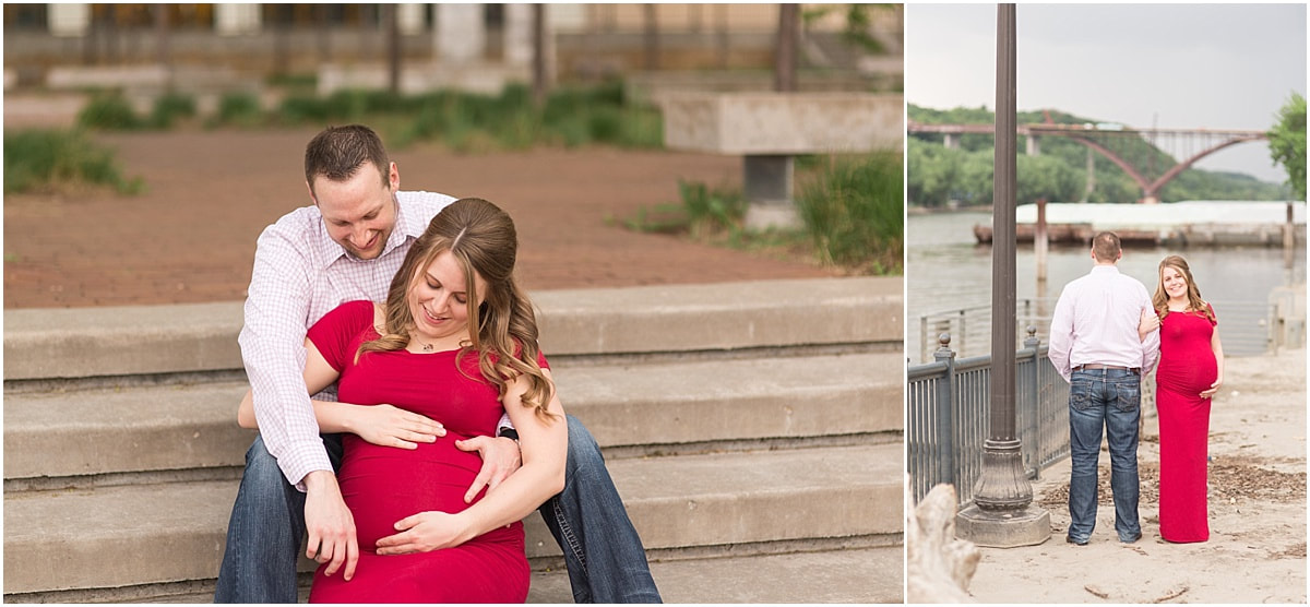 maternity photos in cottage grove